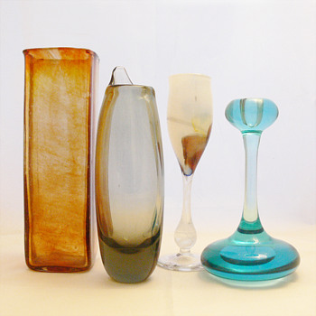 Gifts from our 2nd anniversary - Art Glass