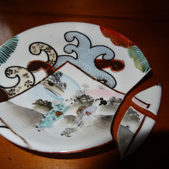 I can't believe I did this !  : (( - China and Dinnerware
