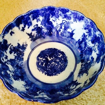 Blue Pottery Bowl