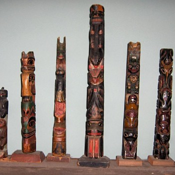 smaller northwest coast totems