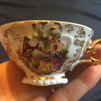 Lehmann Porzellan-Kunst Dresden Tea Cup