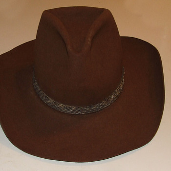 Vintage Resistol Cowboy Hat