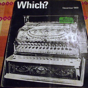 1969-'which' magazine-transistor radios-reviews-best buy. - Paper