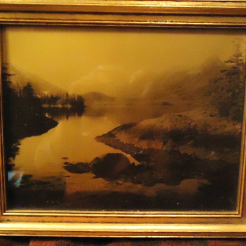 Photo of?  What lake is this? old type photo, Wiley's art, Hartford Conn.