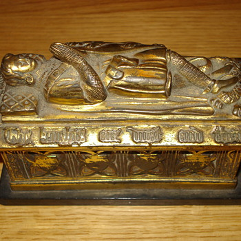 Knight's Tomb Inkwell