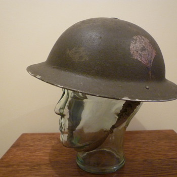 British helmet used by The Black Watch (Royal Highland Regiment) of Canada - Military and Wartime
