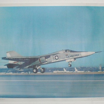 USAF &quot;F-111A First Flight&quot; - Posters and Prints