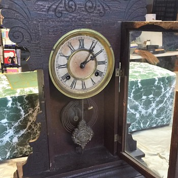 Waterbury Old Clock, researching more now. - Clocks