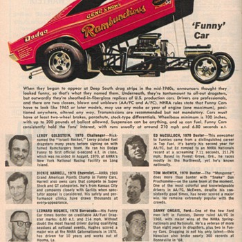 1971 - Auto Racing Guide - Part 2 - Classic Cars
