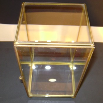 Brass and Glass Boxes