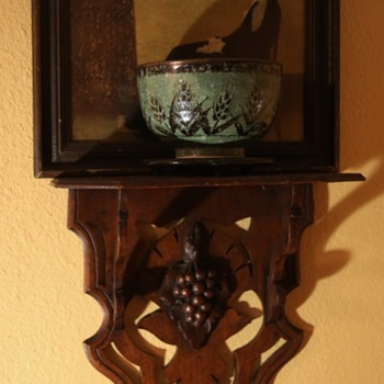 Another Victorian Wall Shelf - Furniture