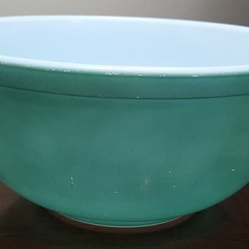 Set of Turquoise Pyrex - Glassware