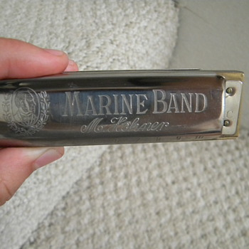 Marine Band M.Hohner Hermonica made in Germany - Musical Instruments