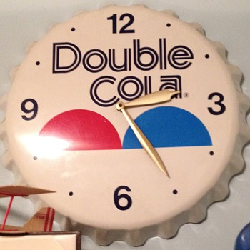 Double Cola clock - Advertising