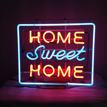 Vintage Neon Sign - Home Sweet Home