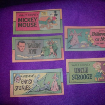 Vintage comic strips - Comic Books