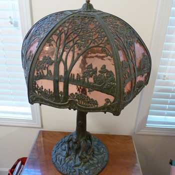 Antique Lamp...Love it...no idea about it though :) - Lamps