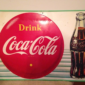 1948 Coke Sign (Canadian) - Coca-Cola
