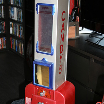 candy machine - Coin Operated