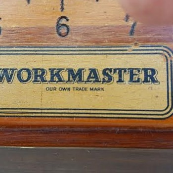 WORKMASTER Gorgeous 6' Measuring Stick; Can't find any info on it...