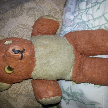 my antique teddy bear