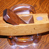 "R.G. Capon, Antique Wood MINI Plane 5"" long ..Work of art!!"