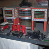Art Deco styled service station with showroom for cars