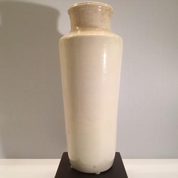 17th Century Chinese Blanc de Chine Dehua porcelain vase.