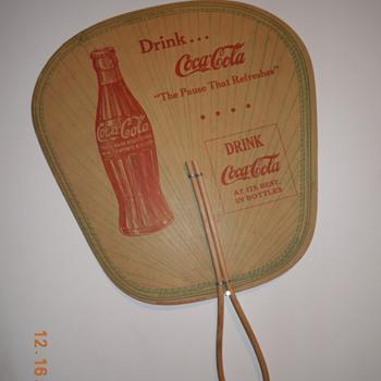 1930's Coca-Cola Fan - Coca-Cola
