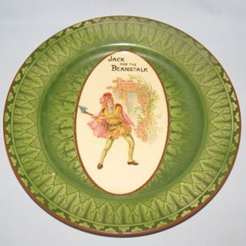 Royal Doulton Jack and the Beanstalk Plate D3606 - China and Dinnerware