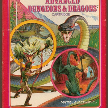 """Dungeons & Dragons"" Video Game Cartridge"