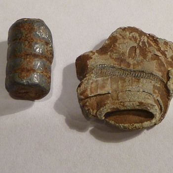Old bullets found underground.