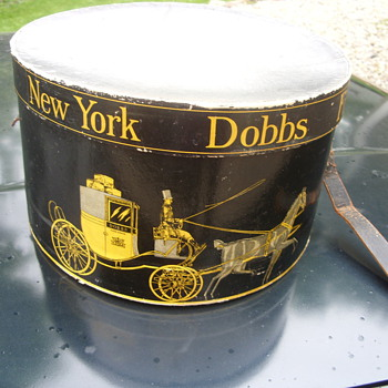 early new york dobbs hat box - Accessories