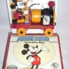 1990&#039;s Fossil pull-toy Mickey