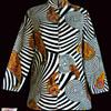Original Alladin Psychedelic 60's Hippie Nehru Jacket