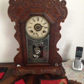 ansonia eight day mantle clock
