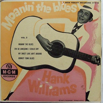 Hank Williams, Johnny &amp; the Hurricanes ,The Fendermen 45&#039;s - Records