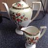 Crown Ducal small teapot & creamer