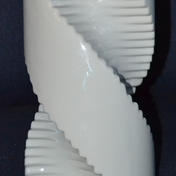 Raymor Spiral Twist Drill Shaped Vase