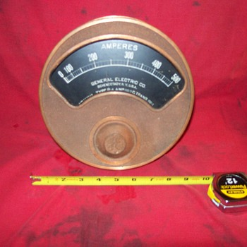 General Electric Amp Gauge