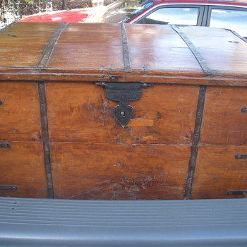 Interesting trunk - Furniture