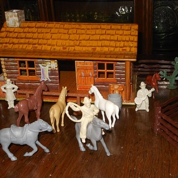 Marx Western Ranch Playset Part 3