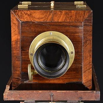 American-Style Chamfered Daguerreotype Camera. c.1850