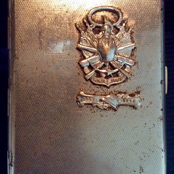 Rediscovered cigarette case