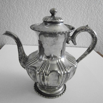 Sterling Silver Kettle 