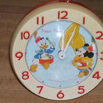 Mickey and Donald Alarm Clock - Clocks