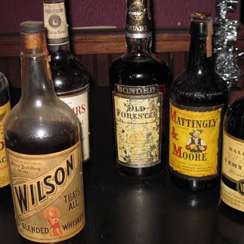 Liquor - Bottles