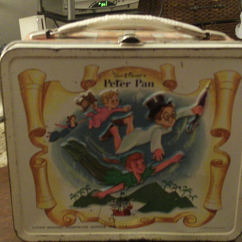 1968 Aladdin Peter Pan Lunchbox - Kitchen