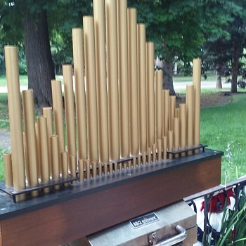 Conn pipe organ speaker - Electronics