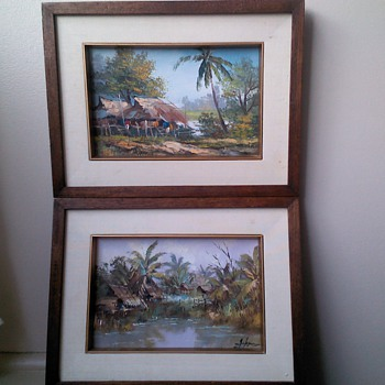 Paintings unknown